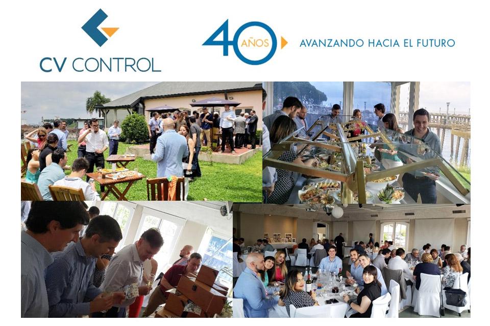 Almuerzo 40° Aniversario CV Control