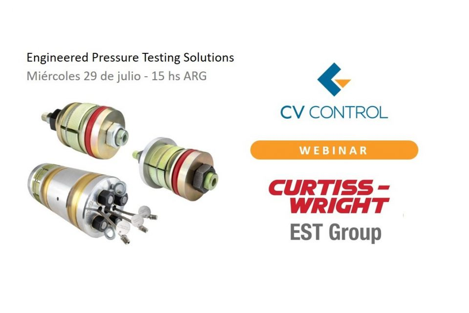 (Esp) Nuevo Webinar: Engineered Pressure Testing Solutions from Curtiss-Wright