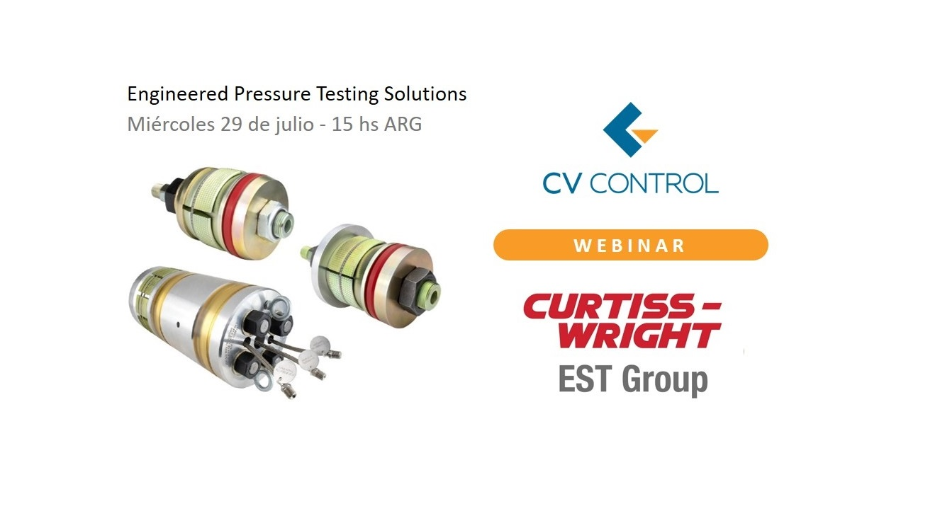 Nuevo Webinar: Engineered Pressure Testing Solutions from Curtiss-Wright