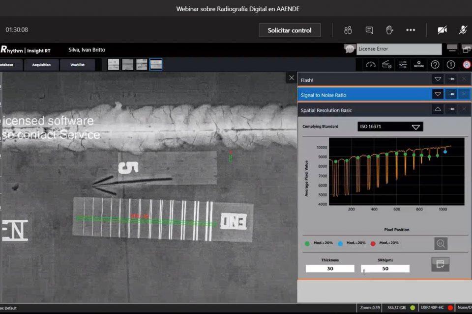 Webinar Radiografía Digital Inspección de Soldaduras y Corrosión