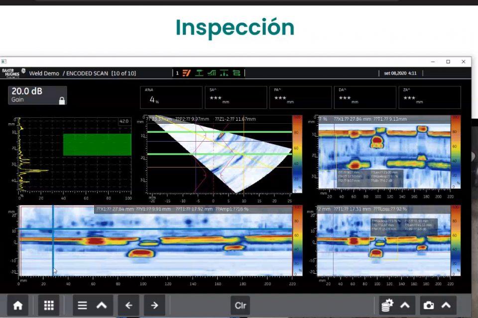 Webinar Inspección de Soldaduras, Tornillos, Bridas y Mapeo de Corrosión utilizando Phased Array.