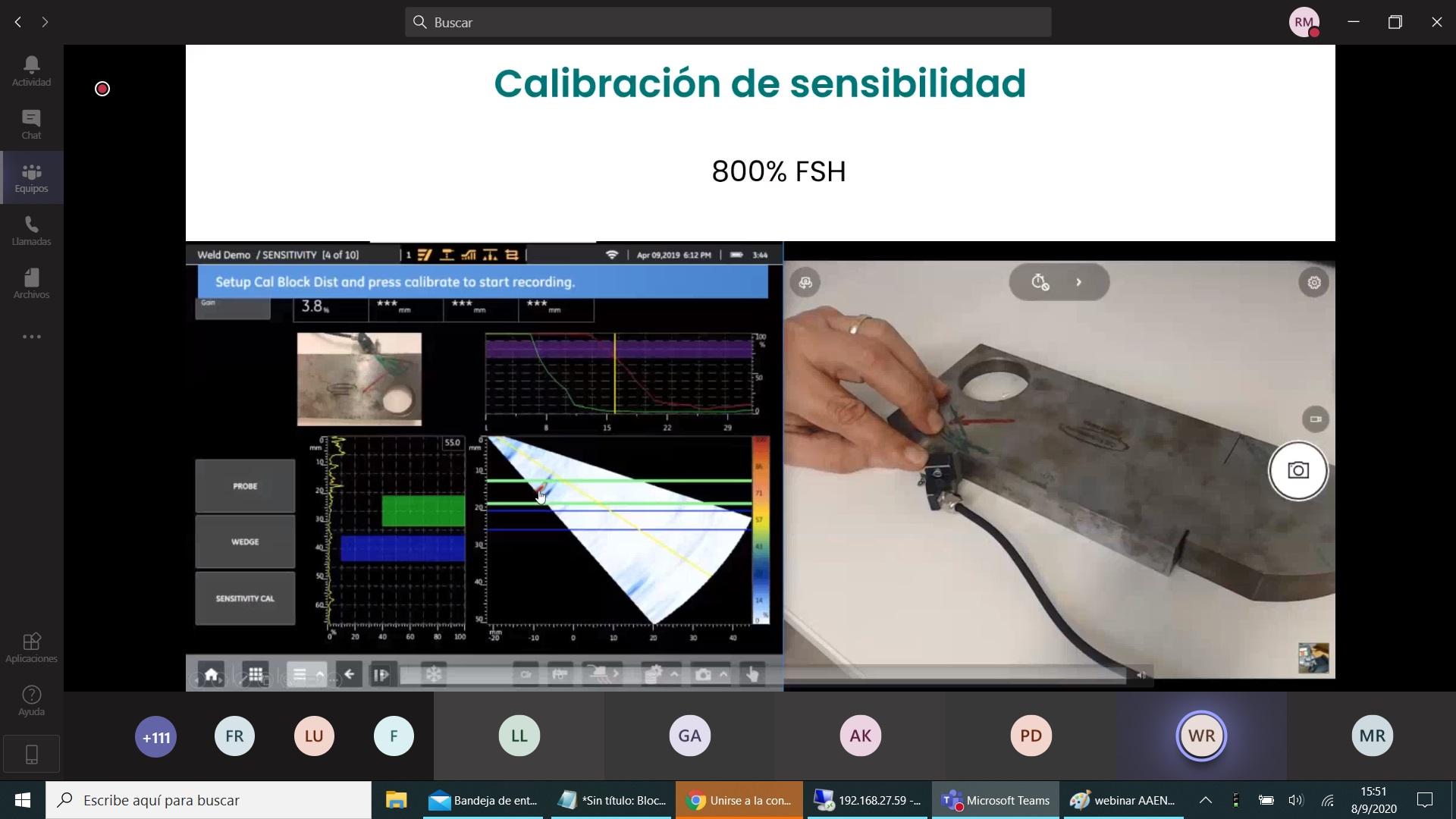 Webinar: Inspección de Soldaduras, Tornillos, Bridas y Mapeo de Corrosión utilizando Phased Array.