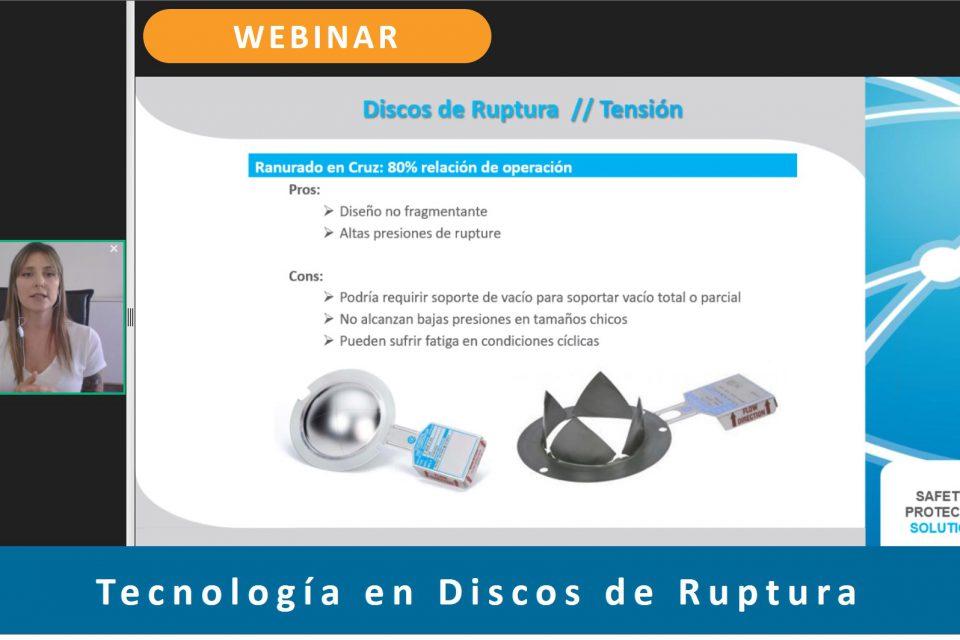 (Esp) Webinar: Tecnología en Discos de Ruptura