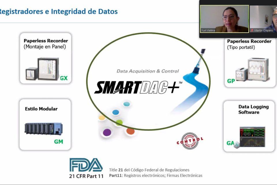 Webinar AADECA: Registro y Monitoreo de variables en la Industria Farmacéutica