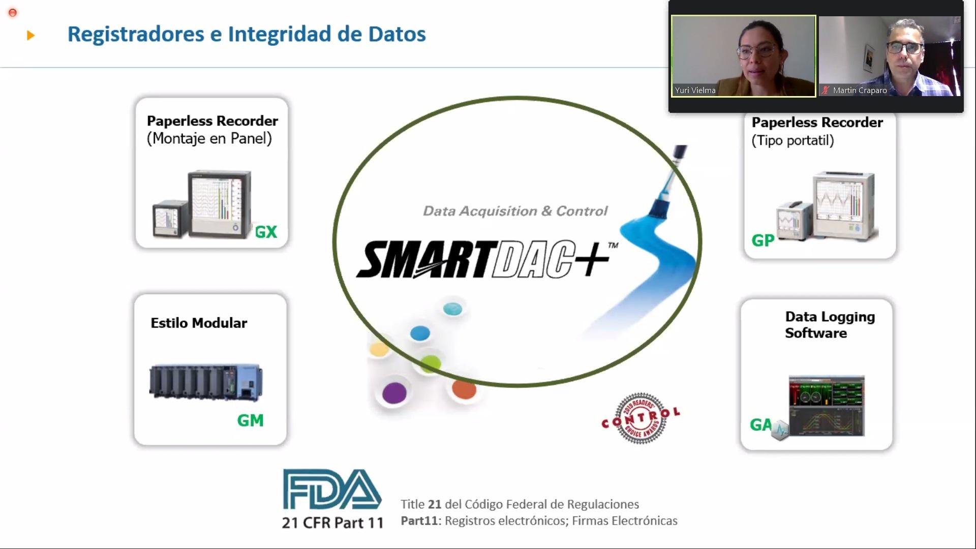 (Esp) Webinar AADECA: Registro y Monitoreo de variables en la Industria Farmacéutica